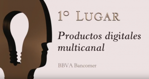 1er lugar, productos digitales multicanal