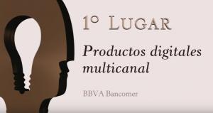 1er lugar, productos digitales multicanal