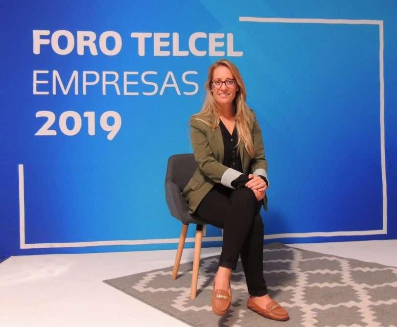 Vivian Lan, embajadora en México de Singularity University, conferencista en Foro Telcel Empresas
